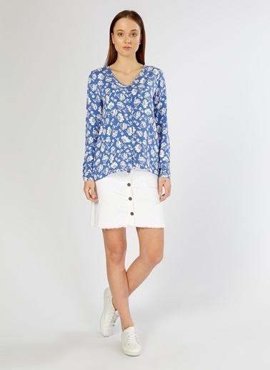 Limon Company Çiçekli Bluz Renkli
